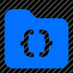 archive, code, file, folder icon