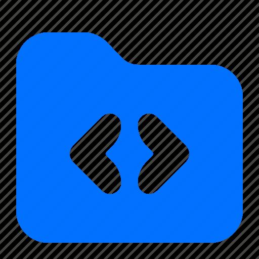 archive, coding, file, folder icon