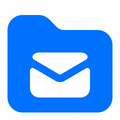 archive, email, folder, message icon