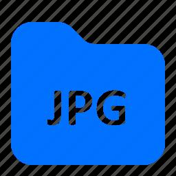archive, folder, format, jpg icon