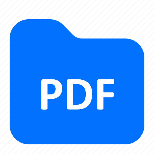 archive, folder, format, pdf icon