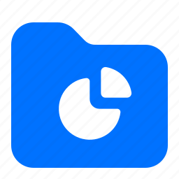archive, chart, folder, pie icon