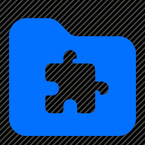 archive, folder, in, plug icon