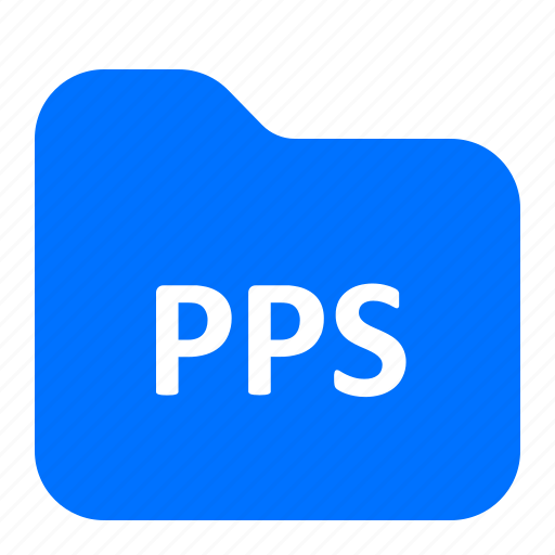 archive, file, folder, pps icon
