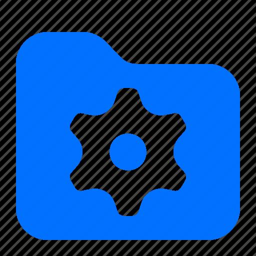 archive, file, folder, settings icon