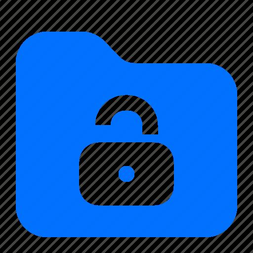 archive, file, folder, unlock icon