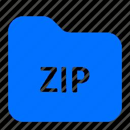 archive, file, folder, zip icon