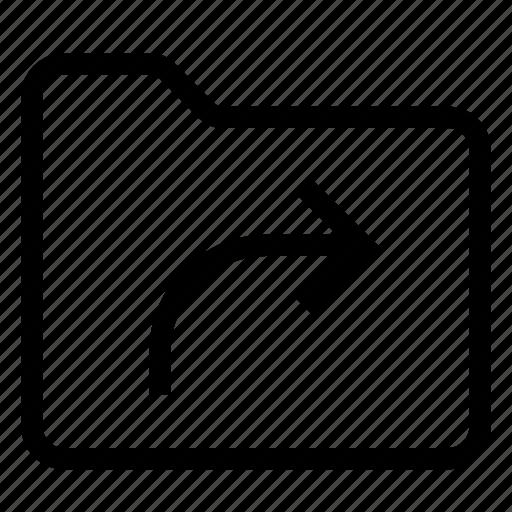 document, extension, file, folder, format, symlink, text icon