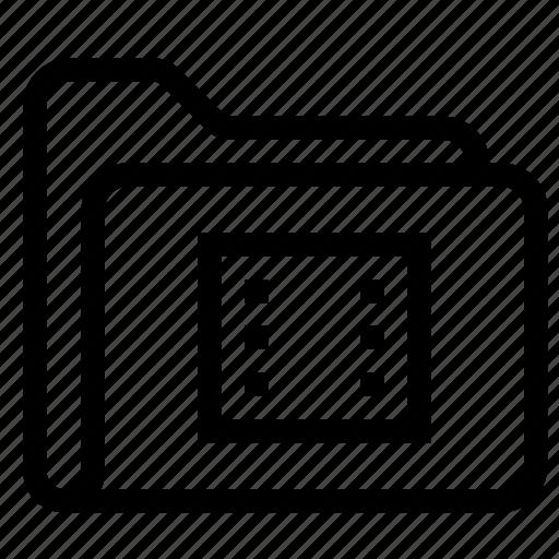 camera, communication, directory, internet, media, picture, video icon