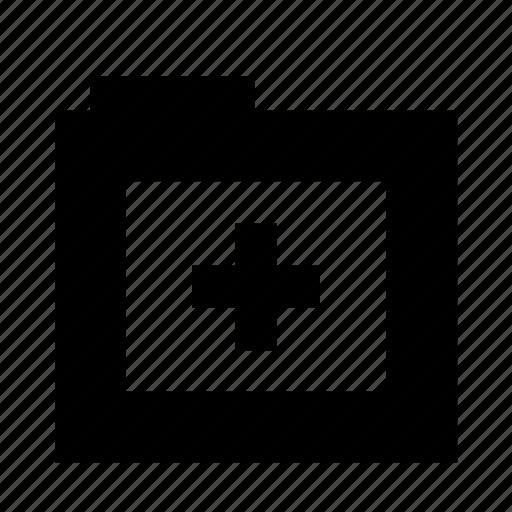 add, add file, add to, folder, plus icon