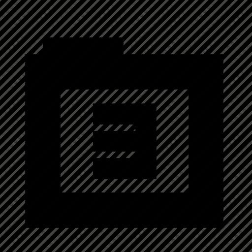 folder, number three, third, three, three files icon
