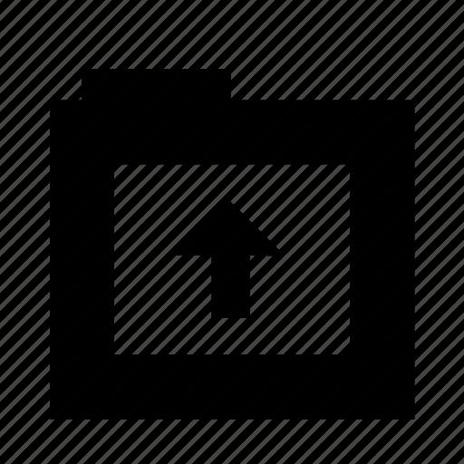 export, folder, send, up, upload icon