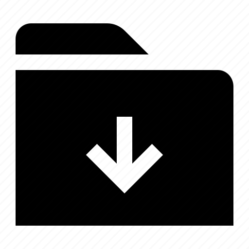 directory, document, down, file, folder, folio, last icon