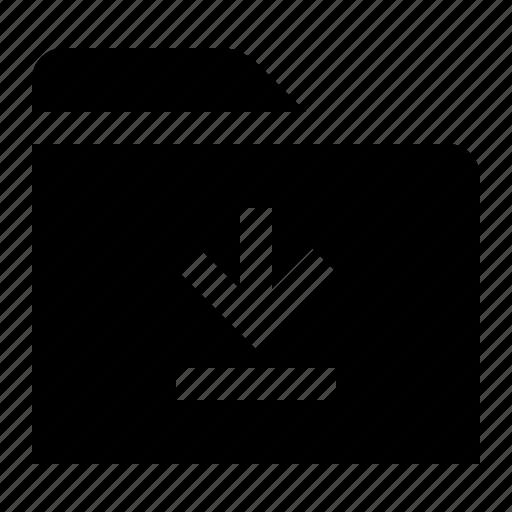 bottom, directory, download, file, folder, folio, last icon