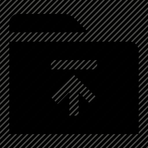 directory, document, file, folder, folio, upload icon