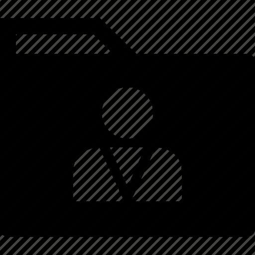 archive, folder, profile icon