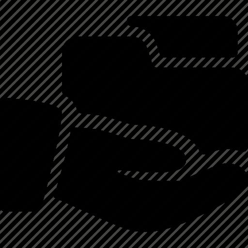 data, document, file, folder, share icon