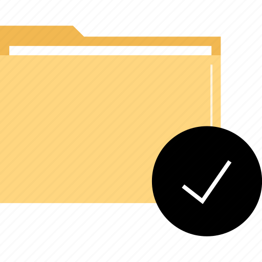 folder, great, ok icon