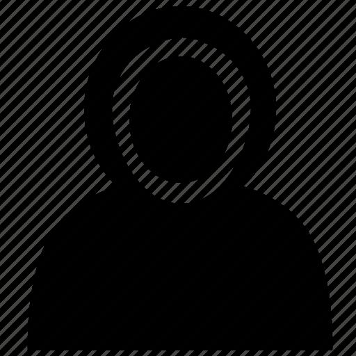 body, hacker, human, man, person icon