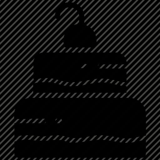 birthday cake, cake, celebration cake, dessert, sweet dish icon