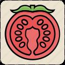 food, red, tomato, vegan, vegetable, vegetarian