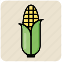 agriculture, corn, food, maize, starch, vegetable icon
