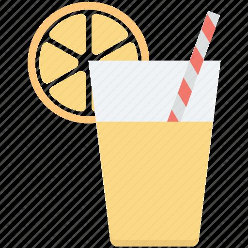 drink, lemon juice, lemonade, orange juice, refreshing juice icon