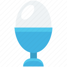 boiled egg, egg cup, egg holder, egg server, egg serving icon