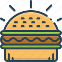 burger, fast, fast food, food, hamburger, sandwich, unhealthy