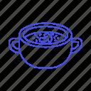bowl, champignon, food, handles, meals, mushroom, restaurant, slice, soup, tableware icon