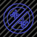 block, chemical, clean, dna, engineering, food, genetic, gmo, no, symbol, transgenic, vs icon