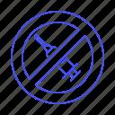block, chemical, clean, food, hormones, injection, no, symbol, syringe, vs icon