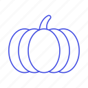food, fruits, pumpkin, squash, vegetables icon