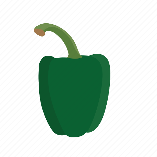 bell, food, green, green pepper, pepper, vegetable, vegetables icon icon