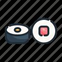 food, japan, japanese, roll, seafood, sushi