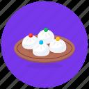 dumplings, chinese food, steamed dumplings, steamed bun, mono dumplings icon