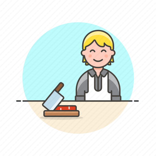 chef, chop, cook, cut, food, man, prepare, restaurant icon