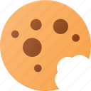 chocolatte, cookie, eat, food icon