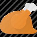 chicke, eat, food, grill, turkey icon