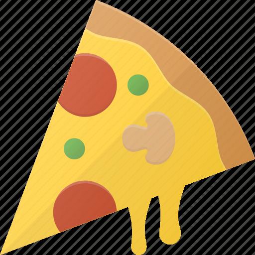 eat, fast, food, italian, pizza icon