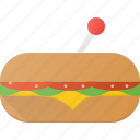 eat, fast, food, sandwitch icon