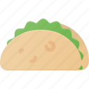 eat, food, taco icon