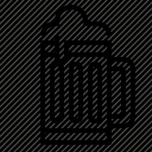 alcohol, beer, beverage, drink, mug icon