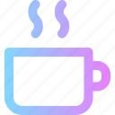 coffee, cup, drink, food, morning icon