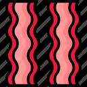 bacon, breakfast, eat, food, meal