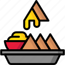 breakfast, eat, food, meal, nachos icon