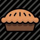 breakfast, eat, food, meal, pie icon
