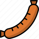 breakfast, eat, food, meal, sausage icon
