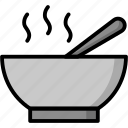 breakfast, eat, food, meal, soup icon