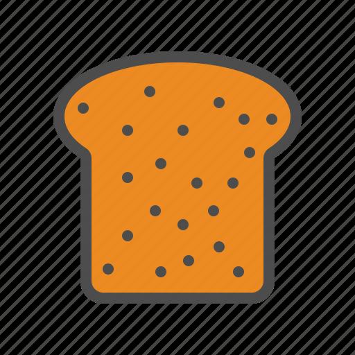 Bread, food, loaf, slice icon - Download on Iconfinder